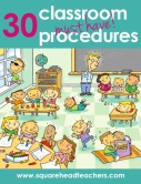 30 classroom procedures
