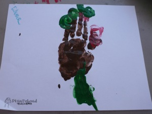 handprint apple tree 5