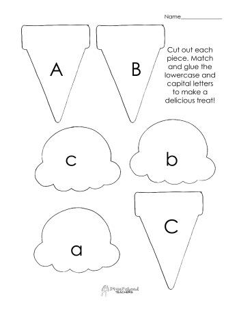 Ice Letter I Worksheets For Kindergarten. Ice. Best Free