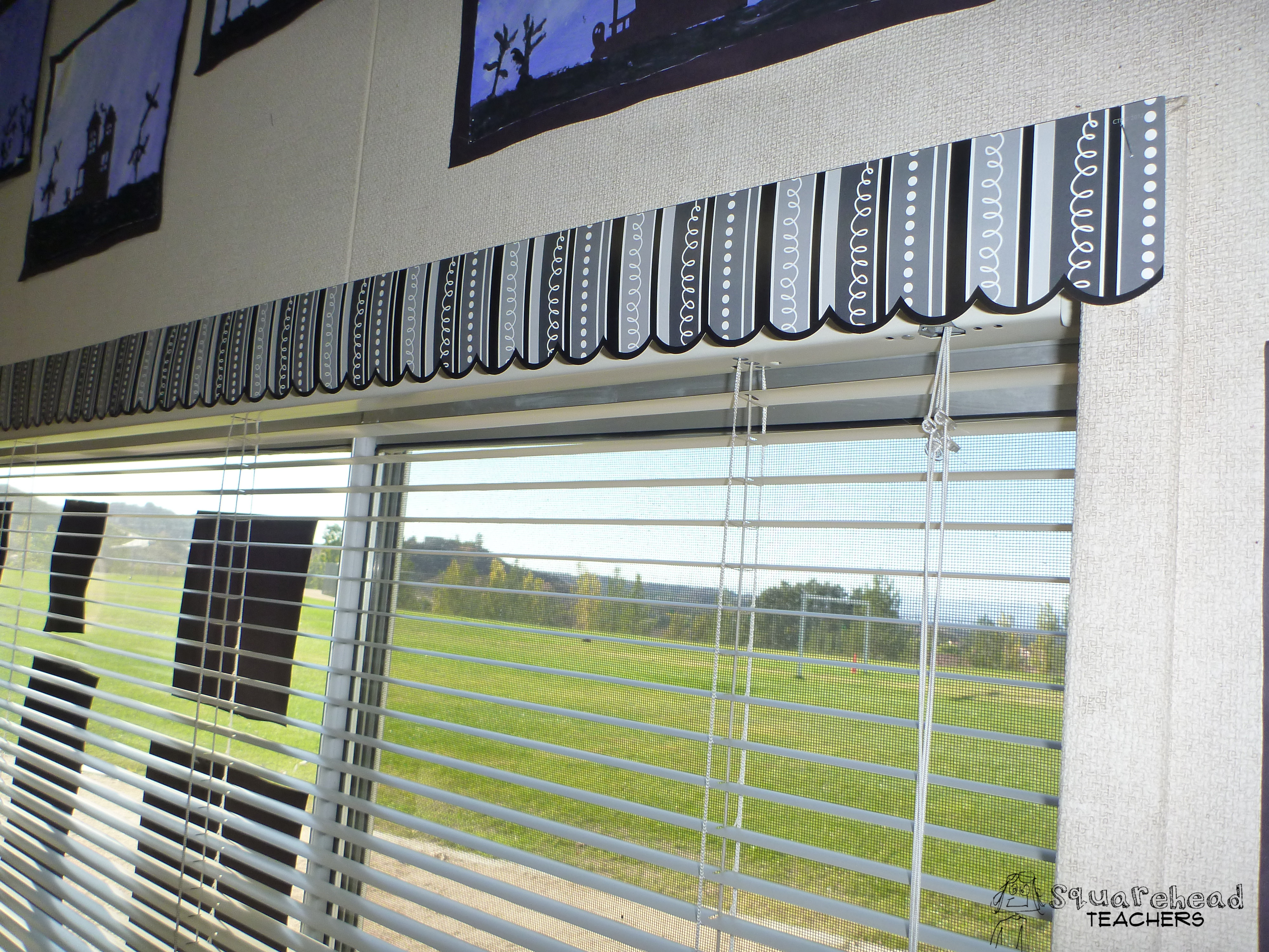 Multicultural Classroom Decor ~ Easy classroom window decor squarehead teachers