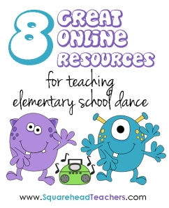 Dance resources sticker