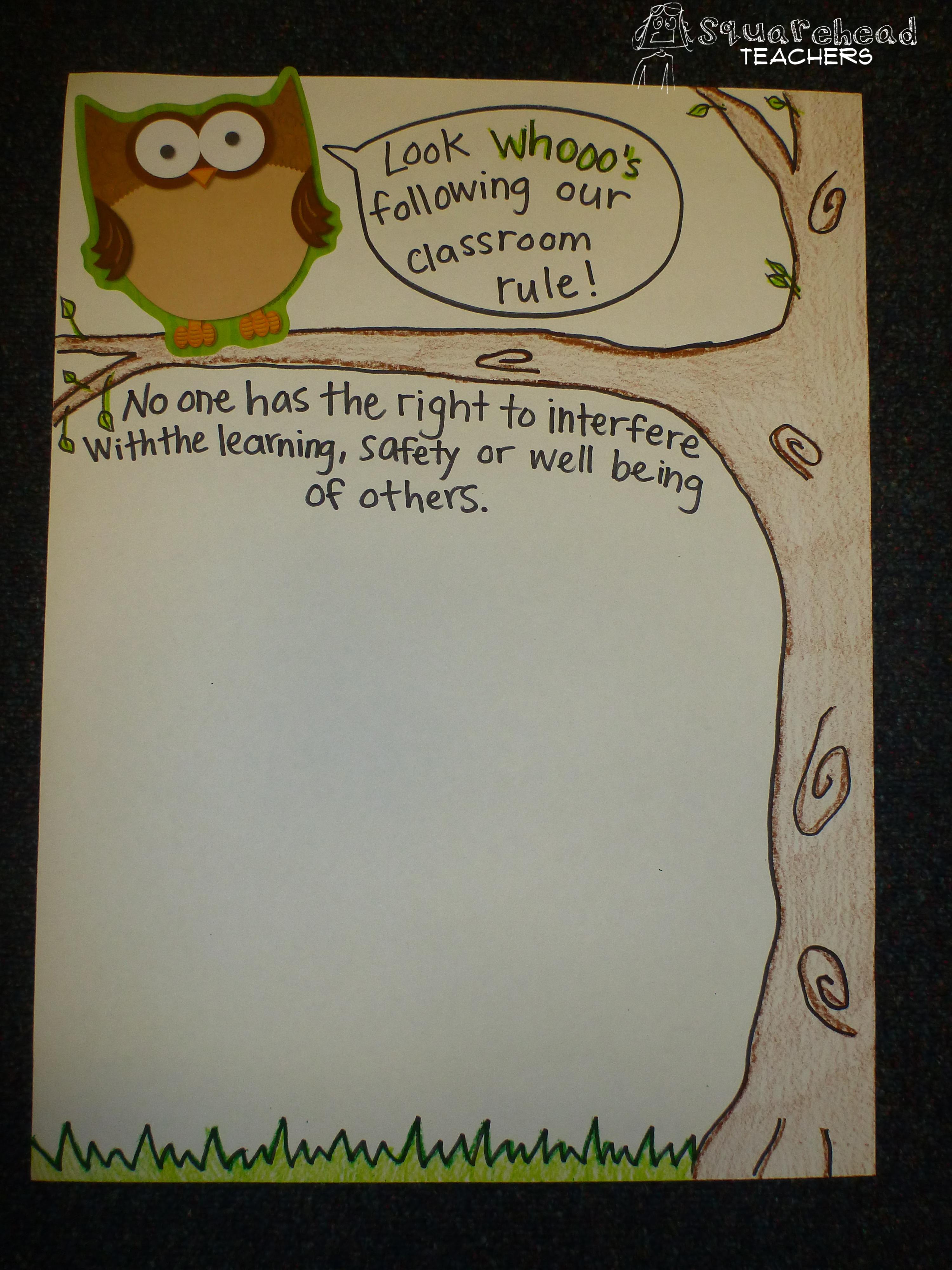 Classroom Decor Resources ~ Poster squarehead teachers