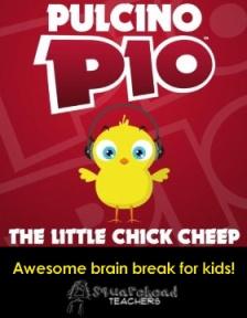 The Little Chick Cheep sticker