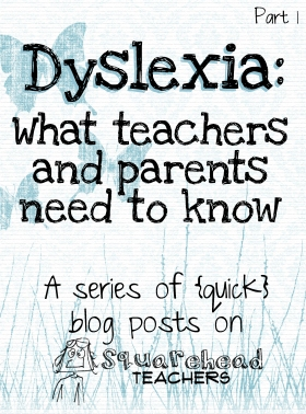 dyslexia series- sticker 1
