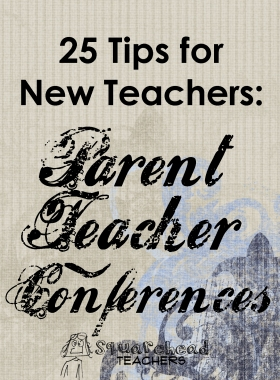 Parent Teacher Conferences TIPS- sticker