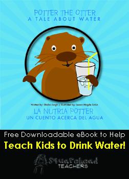 Potter the Otter sticker