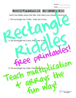 Rectangle Riddles sticker