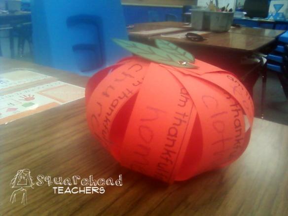 Thankful Pumpkin Craft For Kids Squarehead Teachers