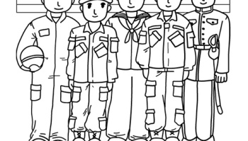 Veterans Day Coloring Pages For Kindergarten | Coloring Pages