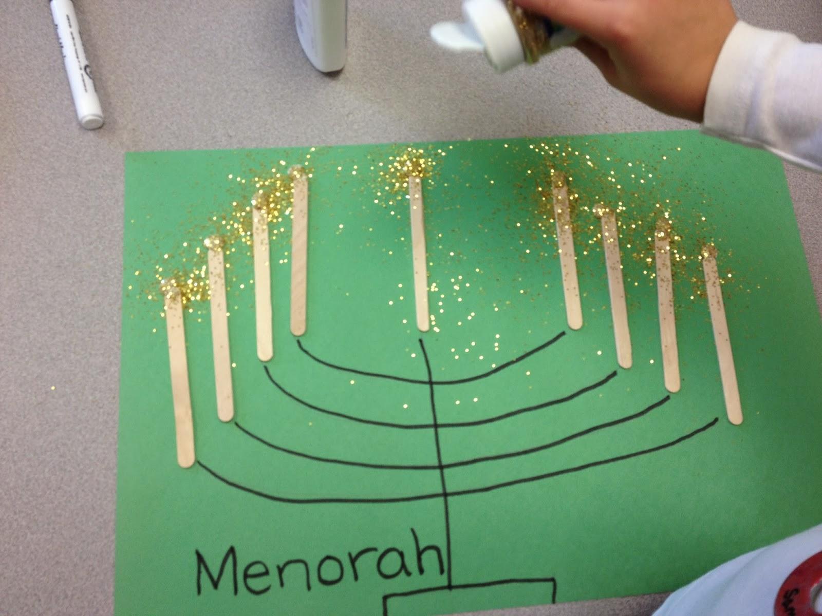 Preschool squarehead teachers for Hanukkah crafts for preschoolers