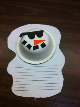 melted snowman craft 1