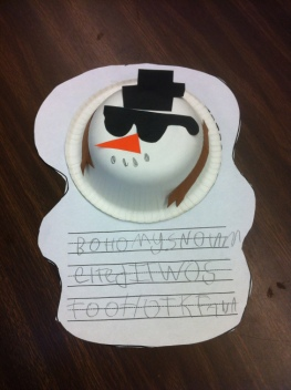 melted snowman craft 2