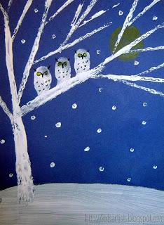 Winter Art Projects for Kids Squarehead Teachers