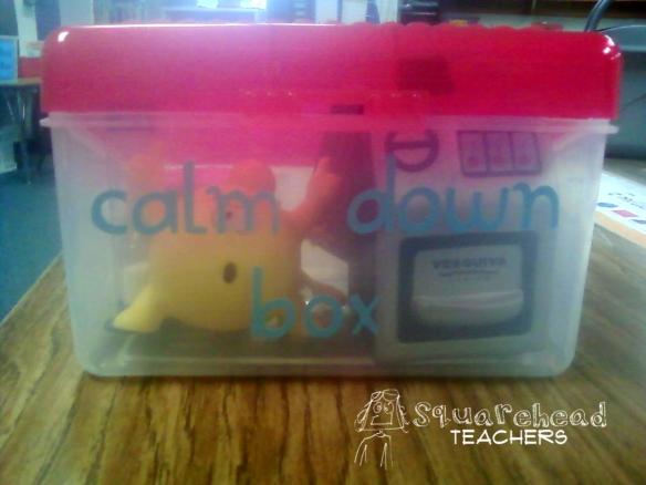 Calm Down Box 1