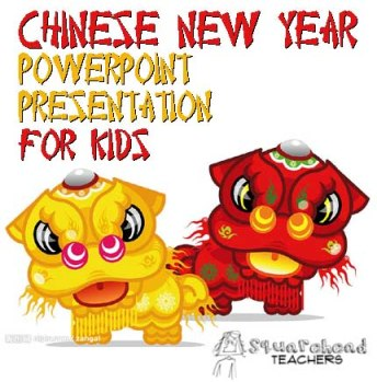 Chinese New Year presentaiton STICKER