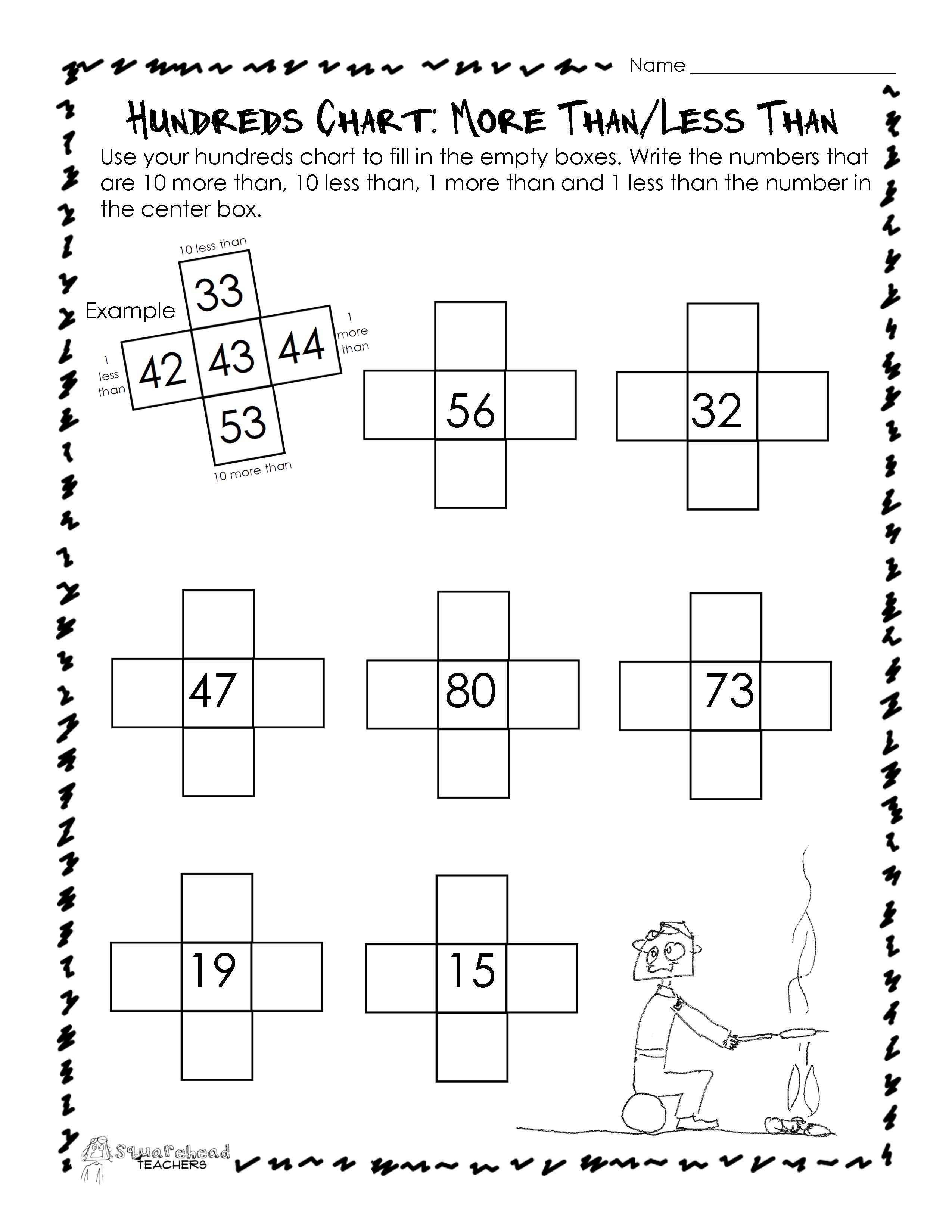 Patterns/Sequences : Squarehead Teachers