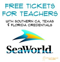 SeaWorld tickets sticker