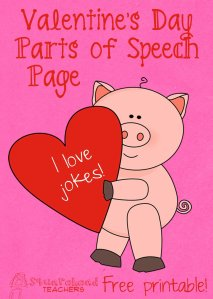Valentine's Day Jokes- POS STICKER