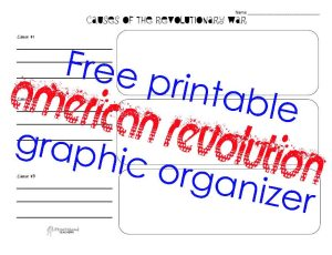 American Revolution G.O. STICKER