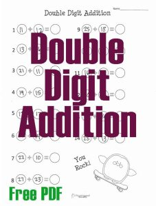 Double Digit Addition Penguin STICKER