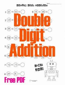 Double Digit Addition Robot STICKER