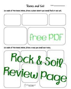 Rock soil STICKER