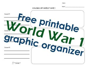 WW1 G.O. STICKER