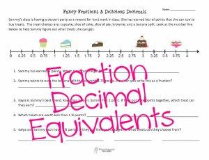fancy fractions STICKER