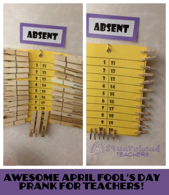 Rachel April Fools Prank