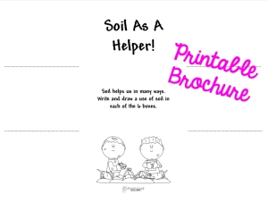 Soil As A Helper STICKER
