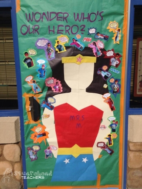 Super hero door 1