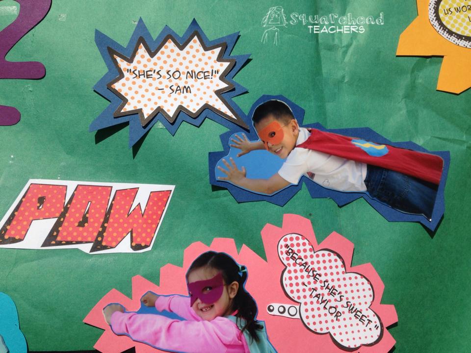 Check out more great super hero themed ideas on the bow tie teacher - Super Hero Classroom Theme Ideas Squarehead Teachers
