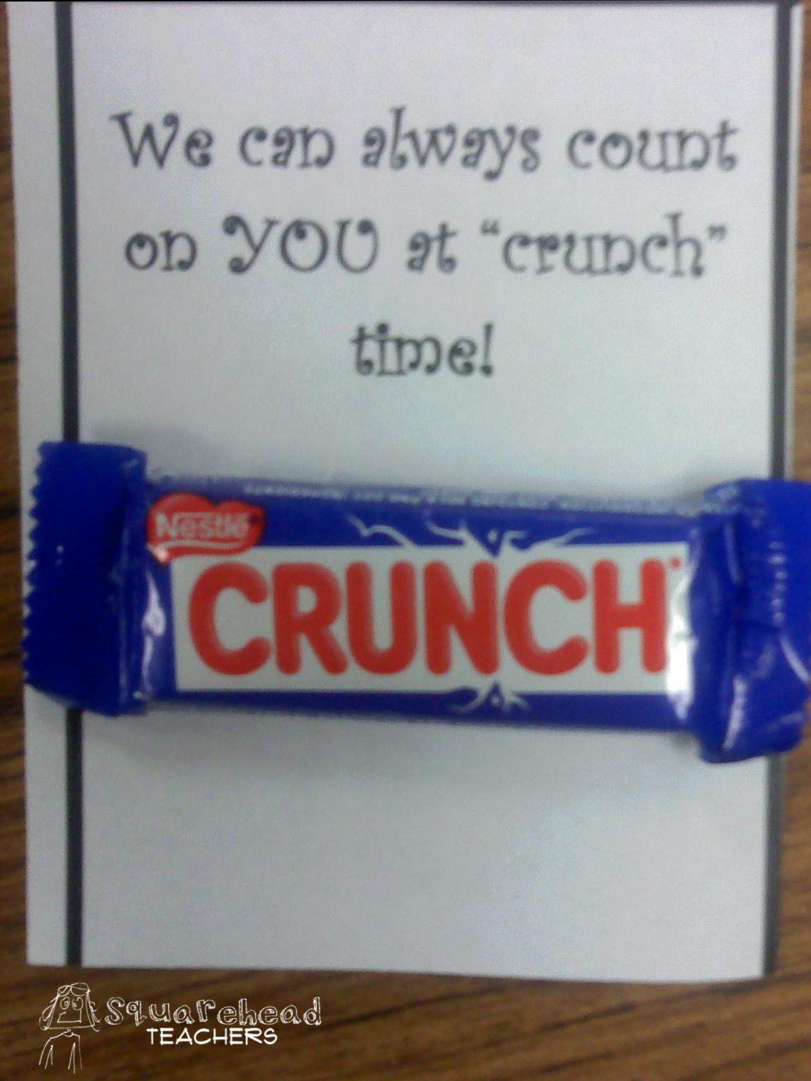 candy sayings for work staff | just b.CAUSE