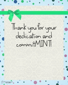 thank you - mint