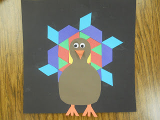 Tangram Turkey 1