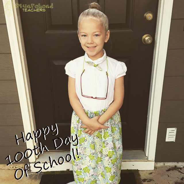 Dress Like 100 Years Old (100th Day of School Idea)