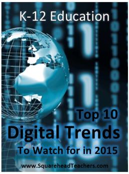tech trends 2015 STICKER