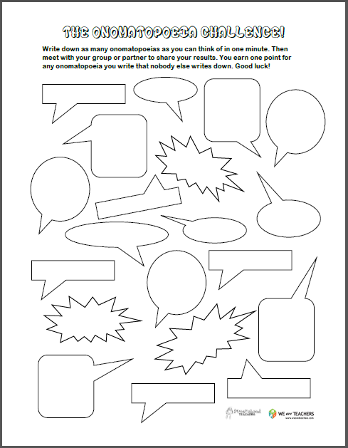 Free Coloring Pages For Kids And Adults A I Love Onomatopoeia Game ...