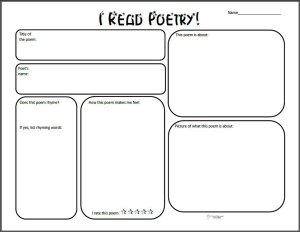poetry review graphic organizer squarehead teachers. Black Bedroom Furniture Sets. Home Design Ideas